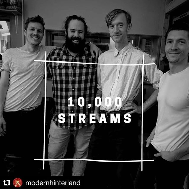 Canny week... #Repost @modernhinterland with @get_repost ・・・ Thanks for all the listens! 🙌  New album The Hoppings out now (link in bio) http://smarturl.it/modhint_thehoppings . . . #newmusicfriday #music #alternative #newmusic #americana #altcountry #rock #folkindie #folkpop #streaming #spotify #thehoppings #modernhinterland