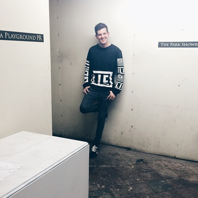 Shooting with this stud @dillonfrancis at #ThePark 😍 #MusicIssue