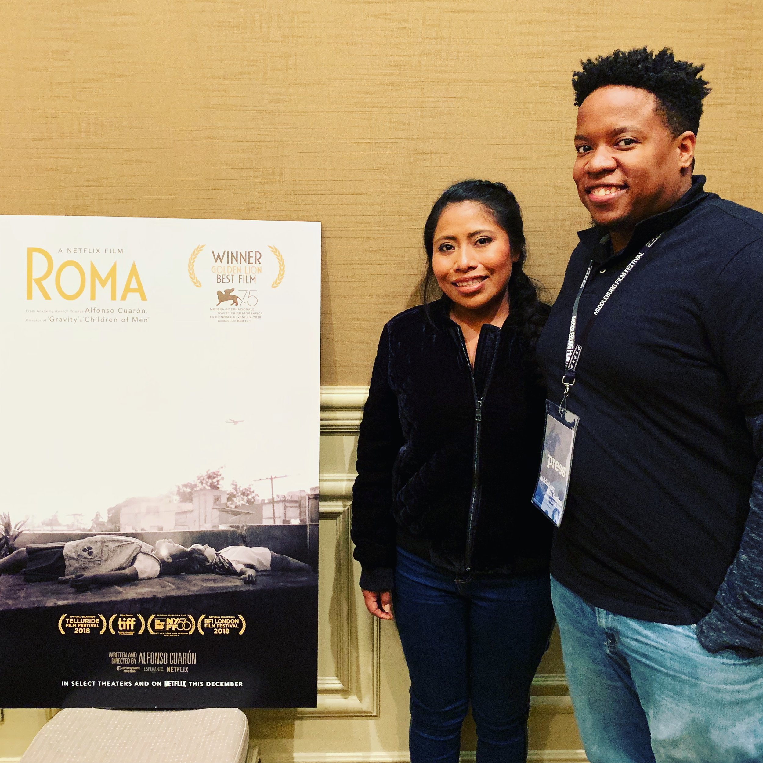 Picture Lock Unlocked: Interview w/ Roma's Yalitza Apiricio (Happy