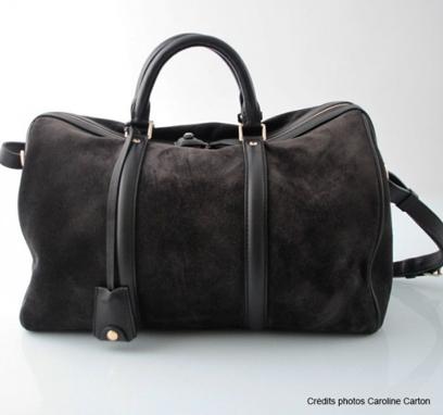 Sofia Coppola suede PM bag for Louis Vuitton