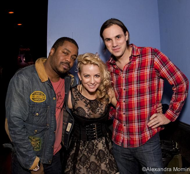 Just Blaze, DJ Nicole Leone, DJ Jamieson Hill