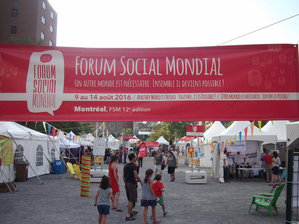 Mehrere tausend besucher kamen zum world social forum