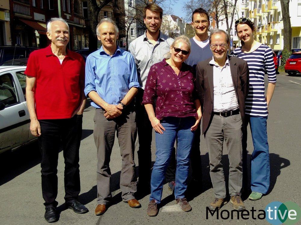 Der Gesamtvorstand ab 2018 von links nach rechts: Arne Pfeilsticker, Klaus Karwat, Manuel Klein, Petra Leonhardt, Lino Zeddies, Hans Scharpf, Judith Reise