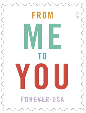 special edition Forever stamp issued by the usps to commemorate national card & letter writing month