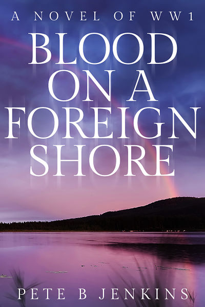 Thriller readymade book cover design for author Pete B. Jenkins. Blood on a Foreign Shore is now available. All our premade cover designs receive free promotion via social media and inclusion in our author gallery on completion.
