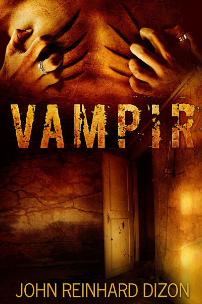 Zombie, vampire premade book cover design. Several paranormal photographic elements were blended to bring the cover design together. We have many more horror premade book covers on our website.