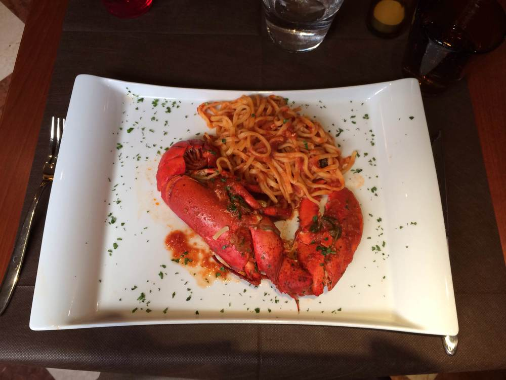Spicy lobster pasta...are you hungry yet?