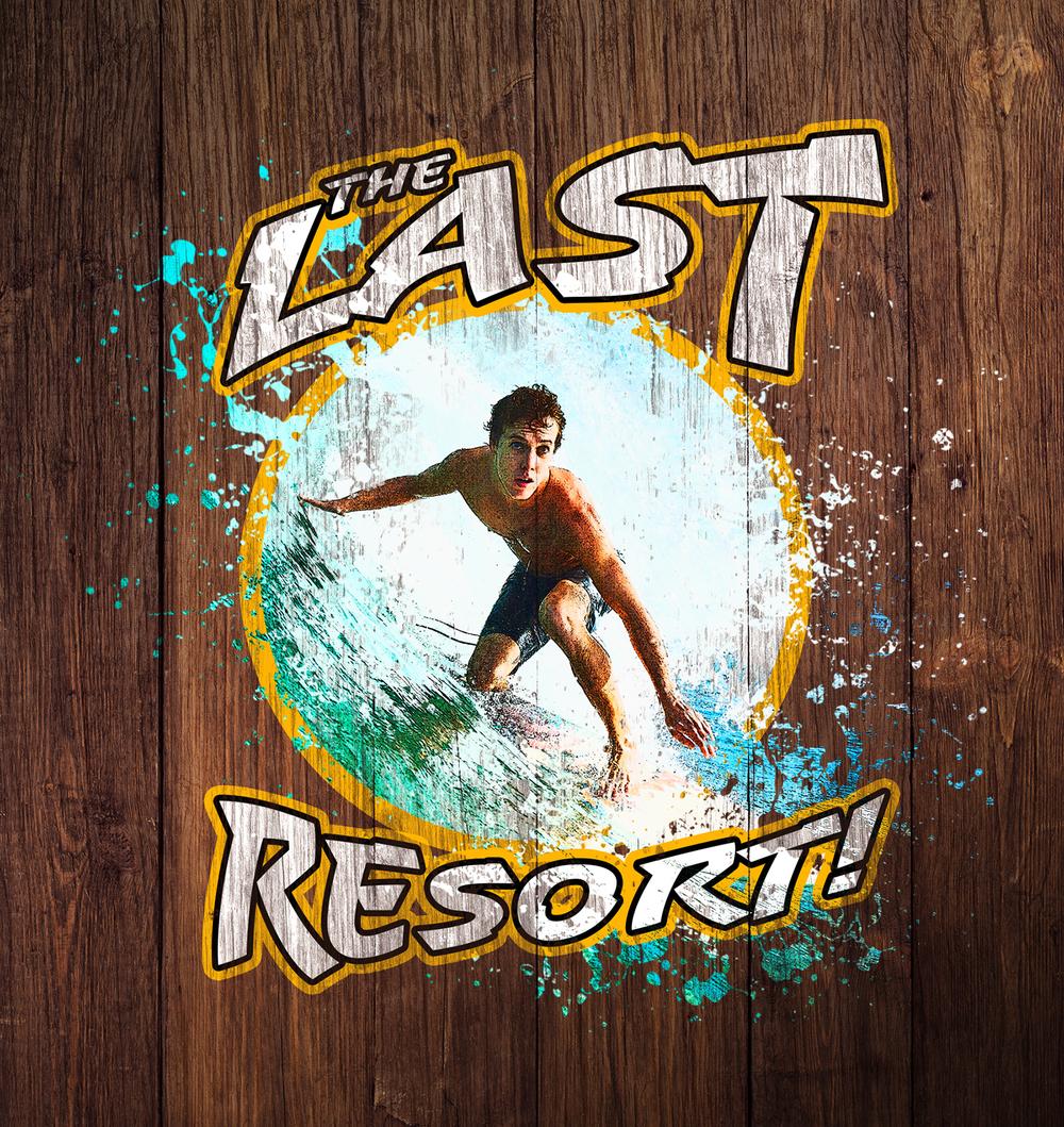 Vintage Surf Logo Design