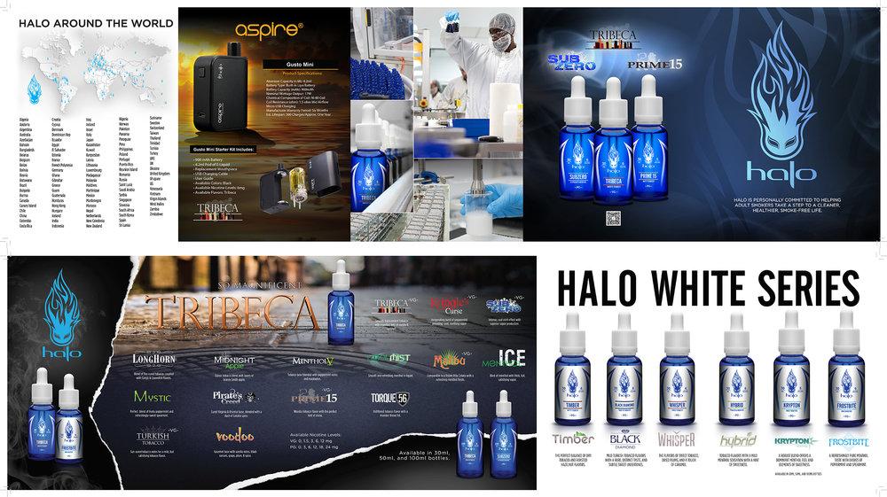 Halo Flavor Catalog