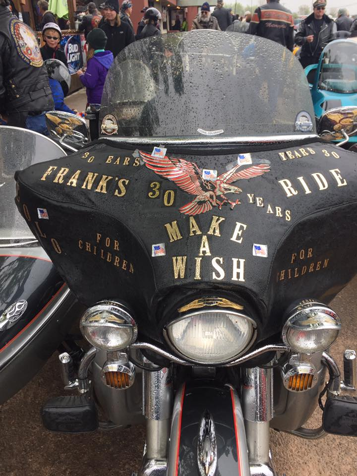 Frank's Ride & Make a Wish 5/14/2016