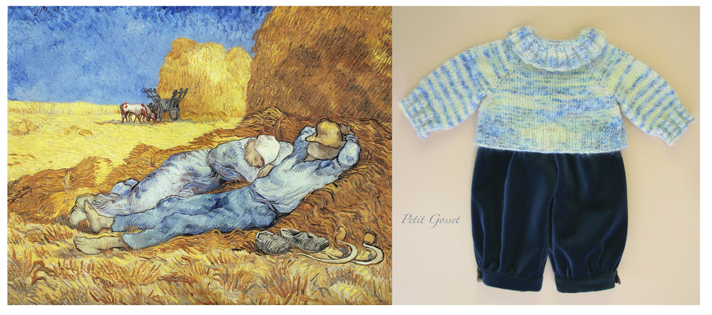 Noon: Rest from work (after Millet), Vincent van Gogh