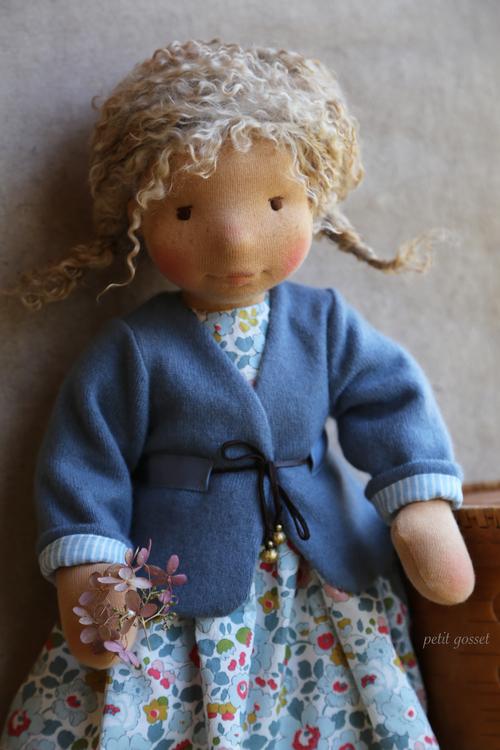 wearing cashmere jacket, by petit gosset