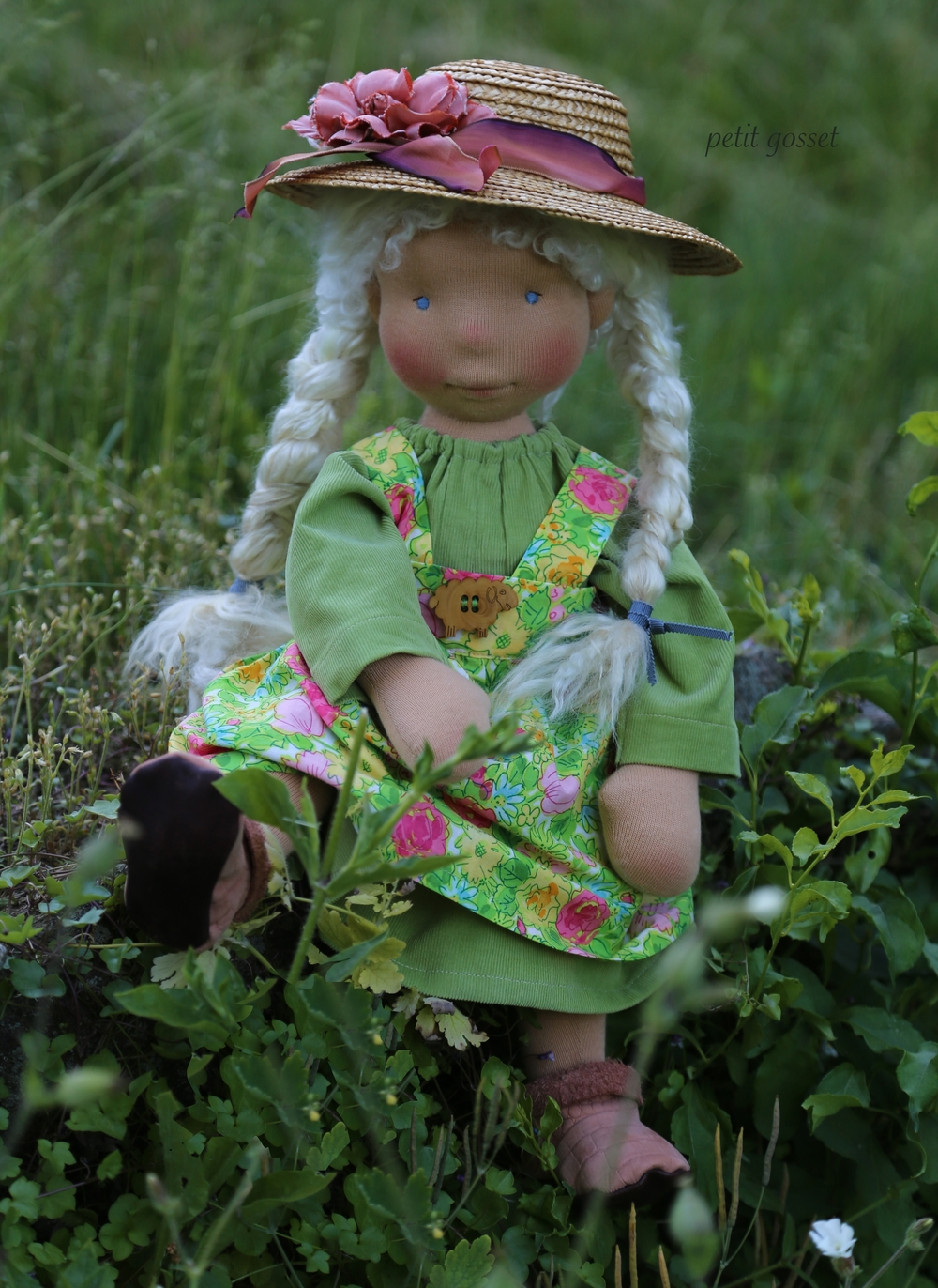 Marika, custom made doll, by petit gosset