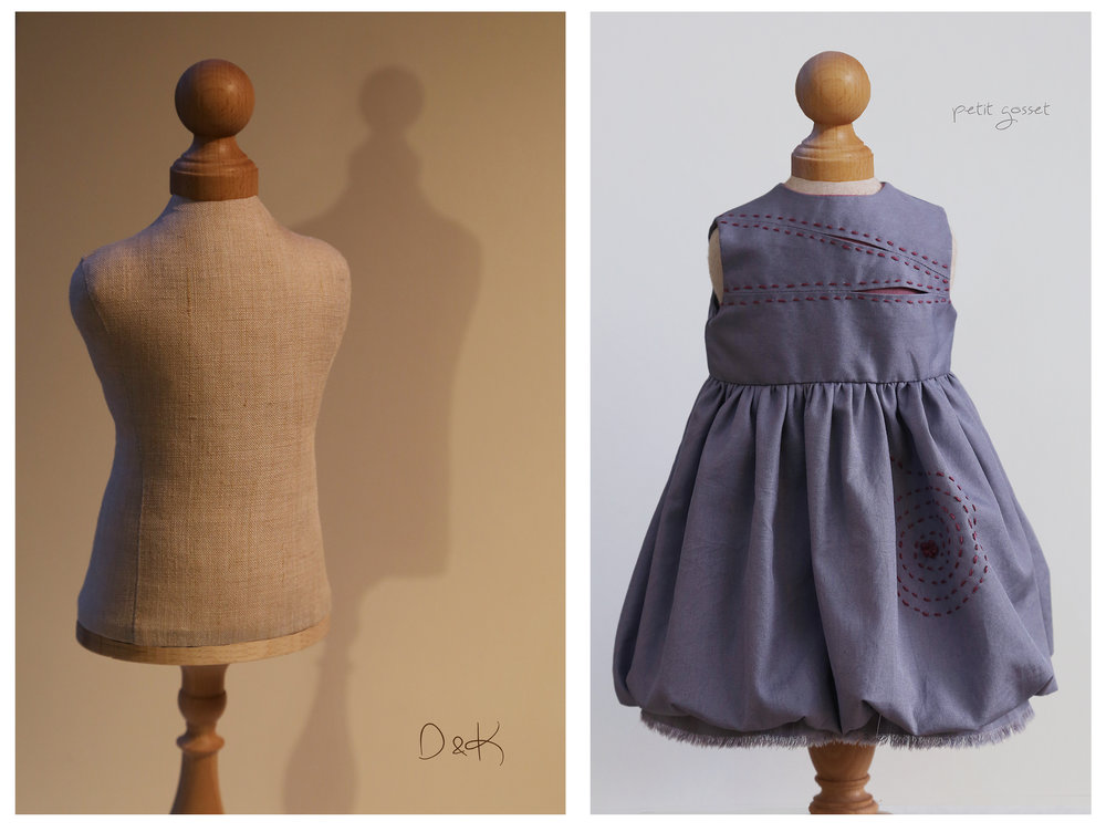 D&K Doll Dress Form