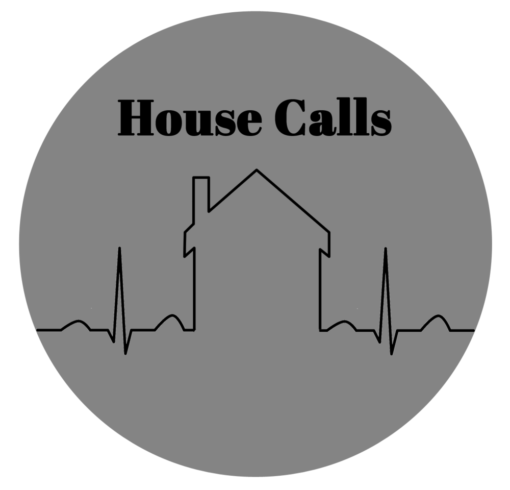 At home with 3 fussy kids?  Keep your slippers on! Dr. Neu does house calls anywhere in Lawrence. Stickers included.