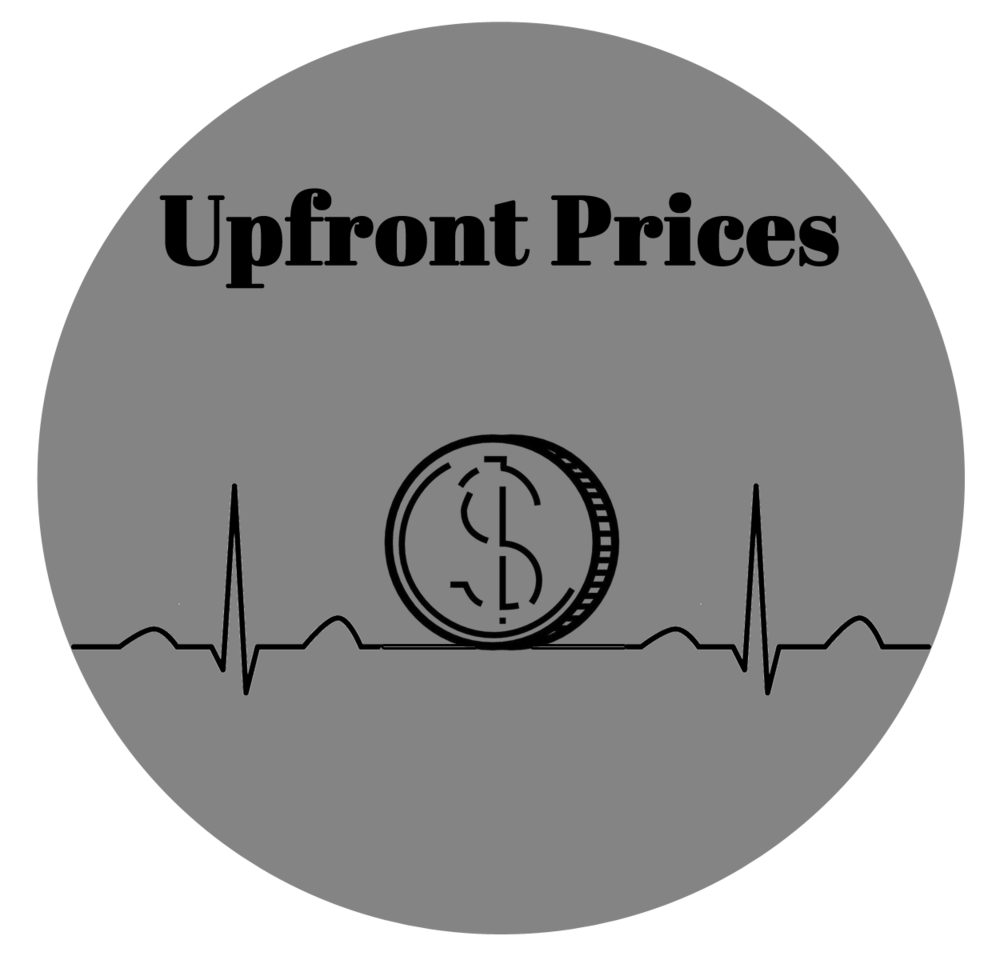 What will that cost? We are committed to upfront and simple, upfront pricing for all services.