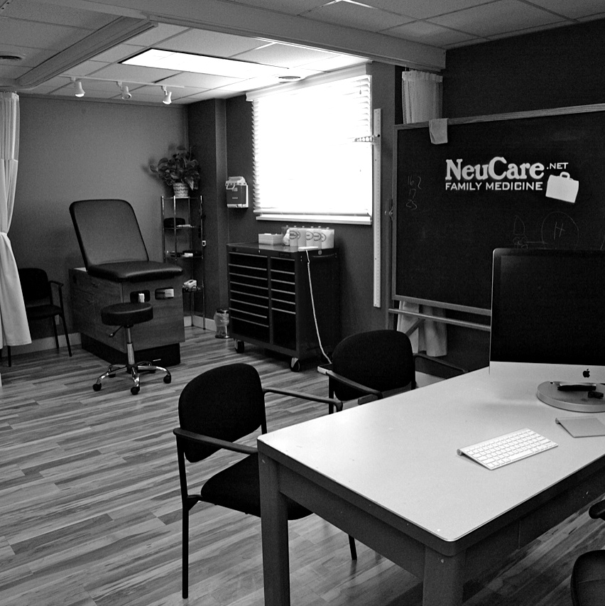 Doctor's Office + Exam Room
