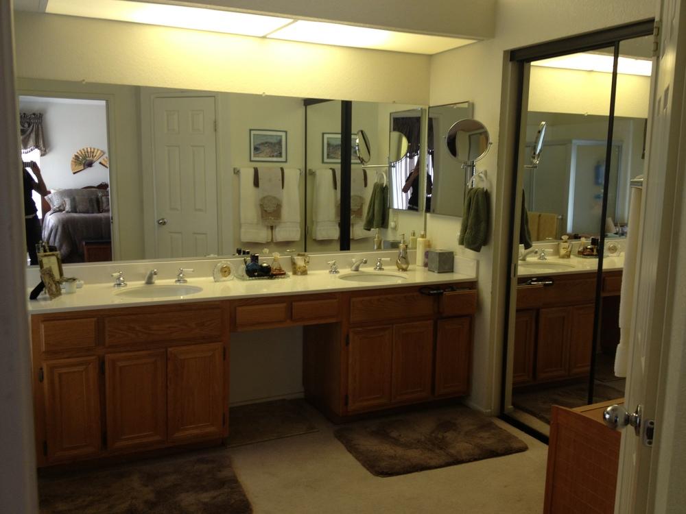 long boring bathroom mirror