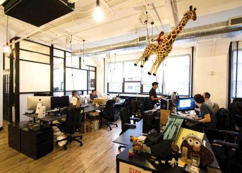 WeWork Is A Start Up Company That Manages Leased, Shared Office Space. The  Company Is Based Out Of New York City And Was Recently Valued At $5 Billion.