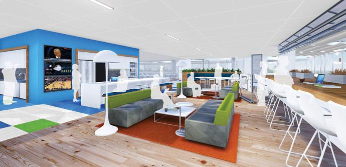 The Future Of Office Interiors