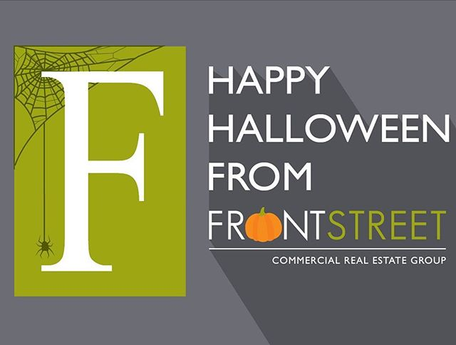Happy Halloween from Front Street! We want to wish everyone a fun and safe Halloween this year! #Halloween #TrickorTreat #commercialrealestate #realestate #business #WhosYourBroker #ItsTheLeaseWeCanDo
