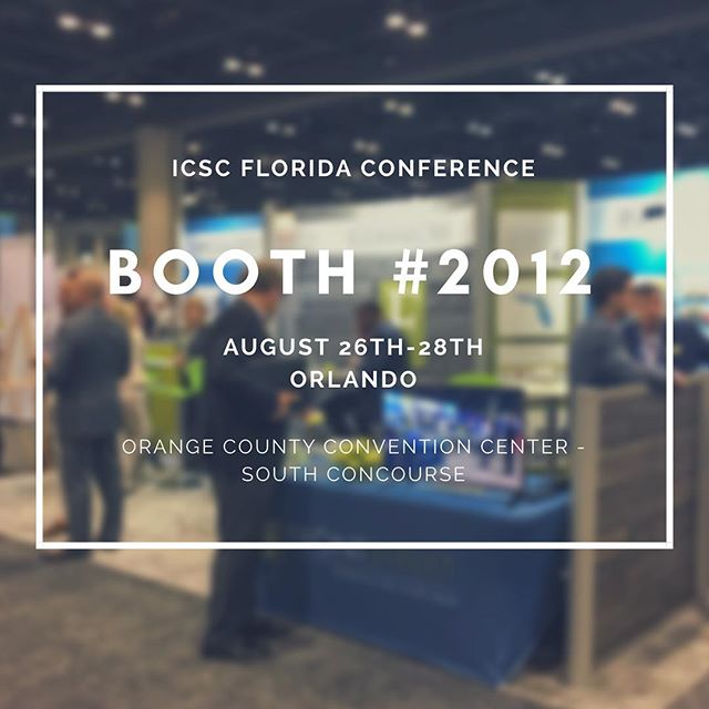 Don't forget to stop by booth 2012 and say hi to the Front Street team! See you at #icscfloridaconference! @icsc