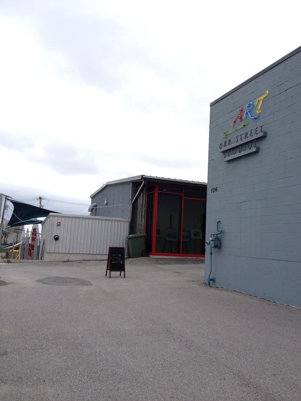 Orr Street Studios in 2013