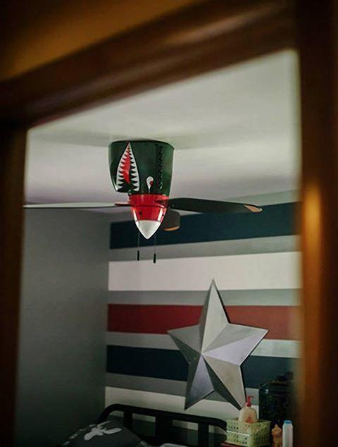 Warhawk fan
