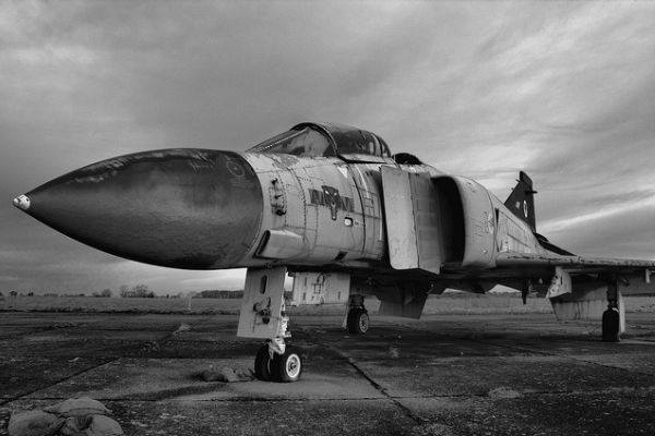 Looking for a fixer-upper F-4 Phantom? This little number's sitting in the boneyard at Davis-Monthan AFB…