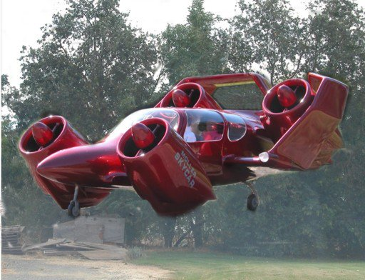 Moller's M400 flying car: It flies, gets good MPG on land and has ample legroom. Just one drawback: You're seeing the extent of its flight capability.