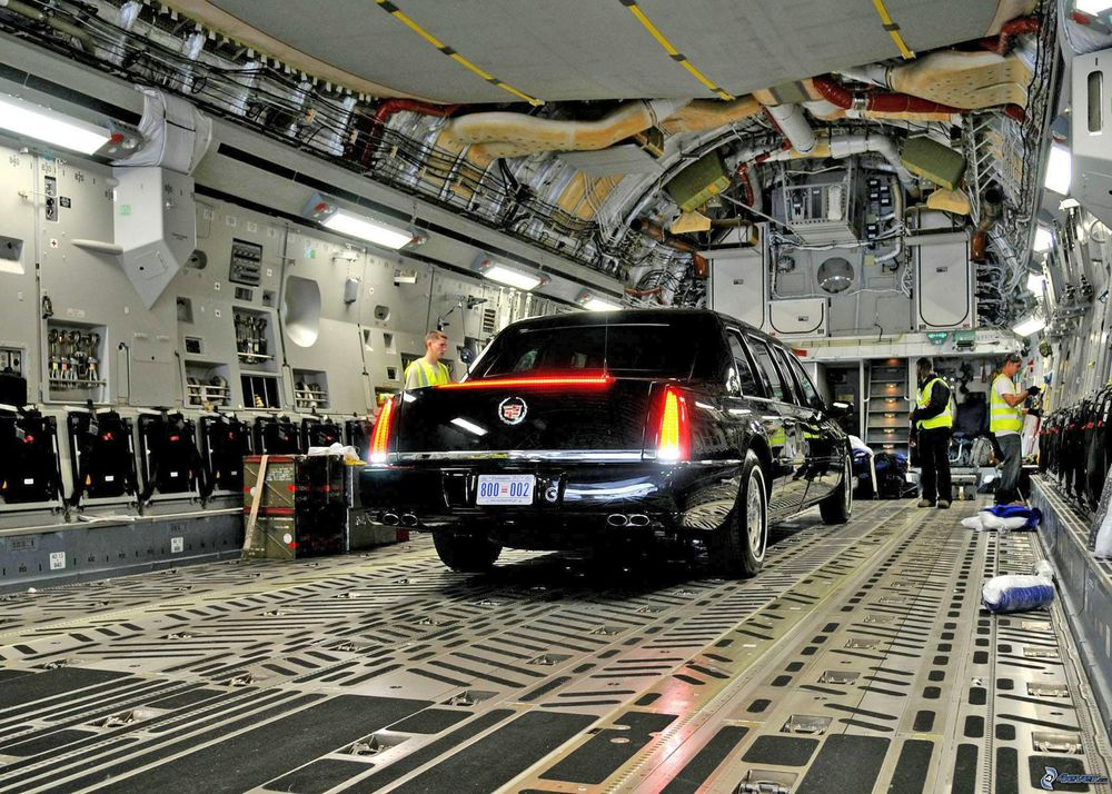 limousine  boeing c-17  C 17 Interior