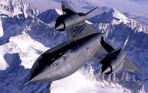 Once a Spy features a variant of the SR-71 Blackbird