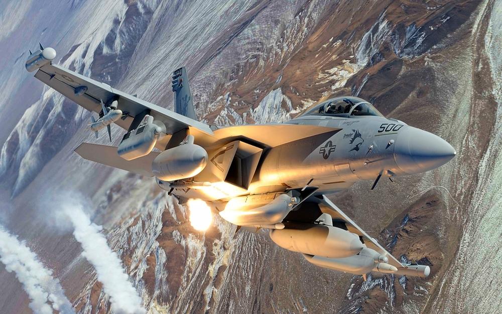 Vídeo: Boeing EA-18G Growler – Caça especializado  (EW – Eletronic Warfar):  Supressão de defesas aéreas inimigas