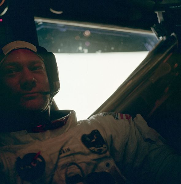Buzz Aldrin, post moonwalk. SOURCE: Wikipedia.
