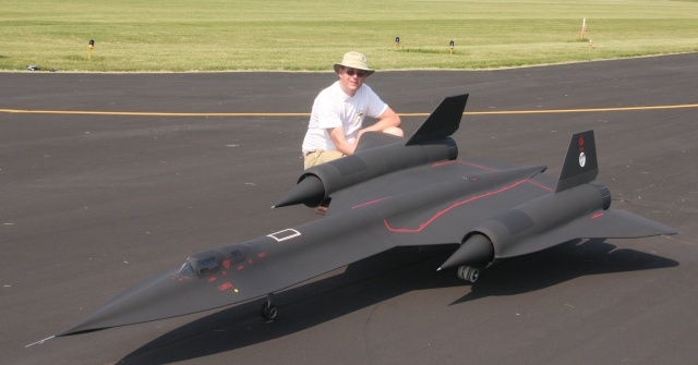 An incredibly/painstakingly-detailed SR-71 cost more than $100,000 to make, a process chronicled in detail here.