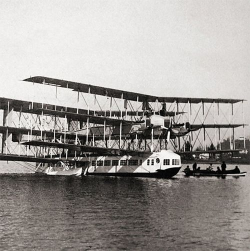 Caproni Ca.60 (yes, it flew)