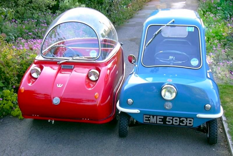 The Peel P 50 and Peel's relatively large Trident