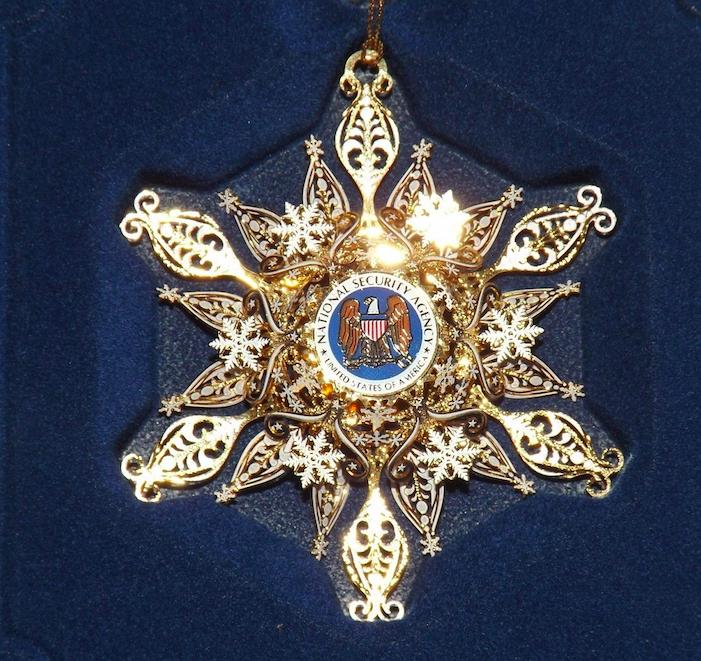 NSA Ornament — Keith Thomson