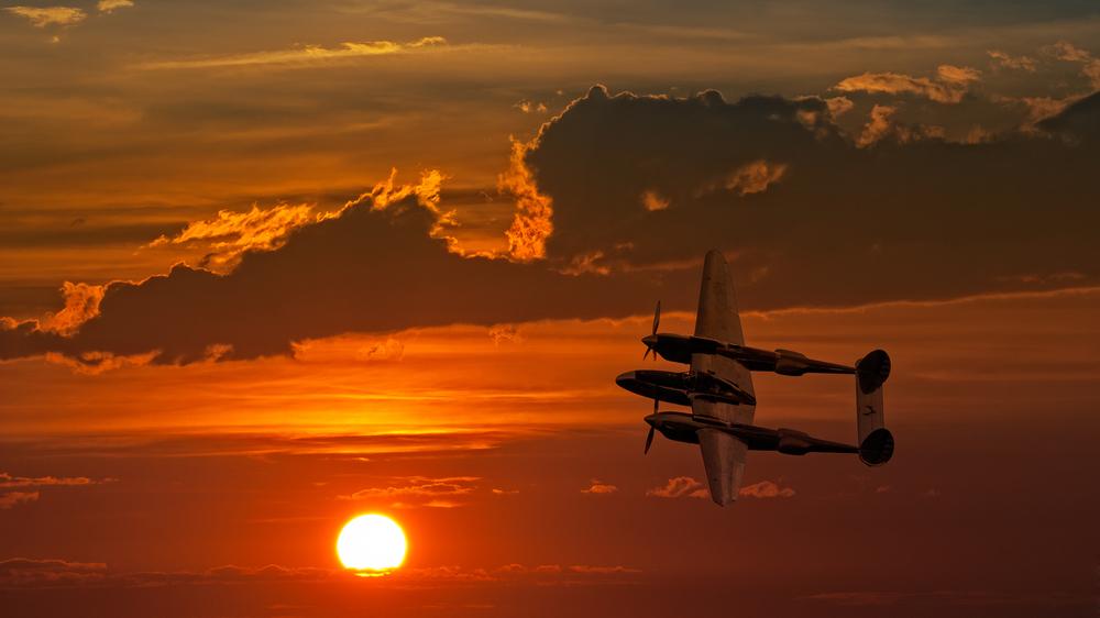 This P-38 photo is gratuitous
