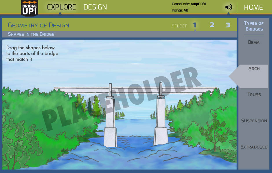 BridgeUP interface
