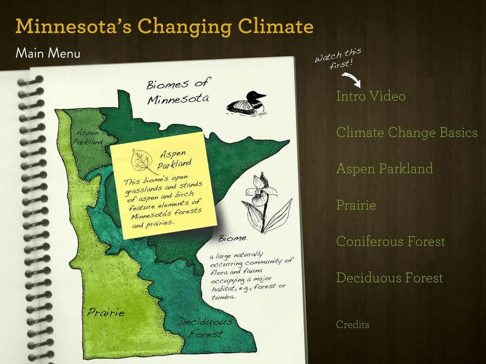 Minnesota's Changing Climate Multimedia Classroom - Home Page
