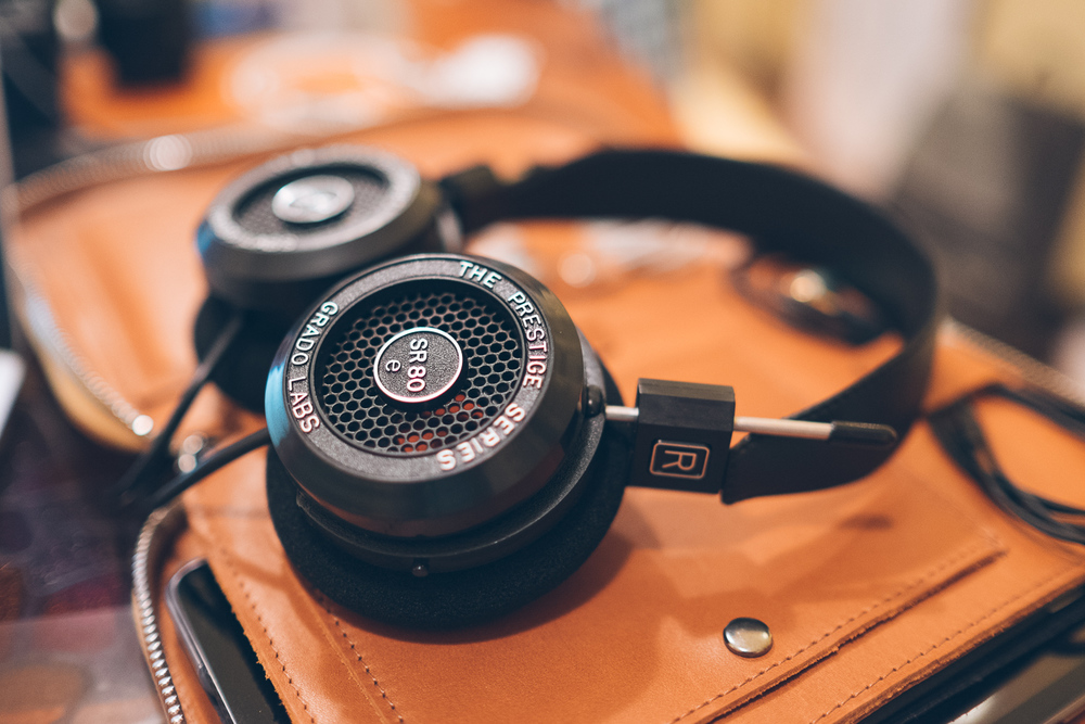 Grado SR80e First Shoot