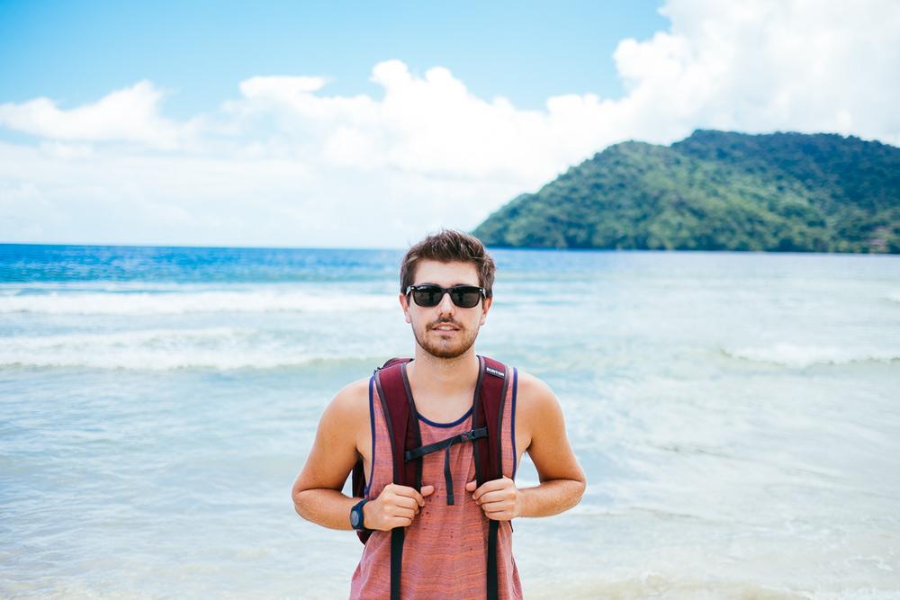 Ocean and Mountain; Jonathan Grado