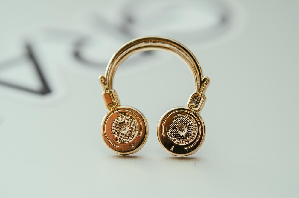 Grado Headphones Pin 3