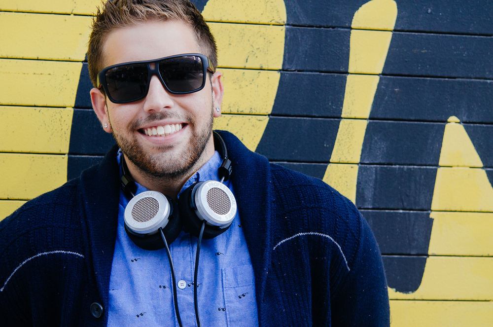 OK Yellow Grado Headphones Shoot
