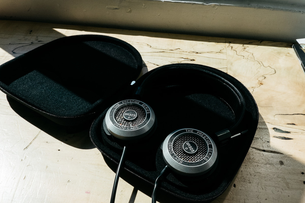 Grado SR325e and Intelligentsia Coffee