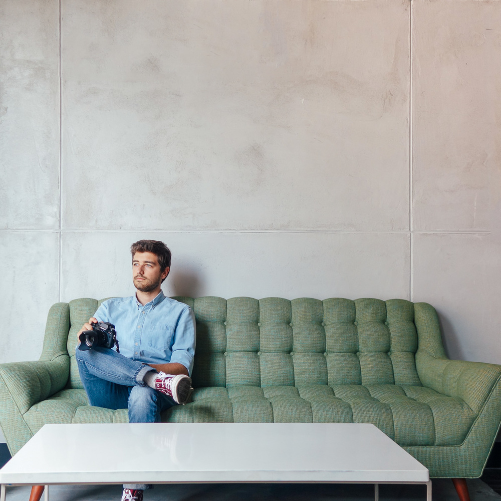 Copy of Jonathan Grado at Freehold Couch