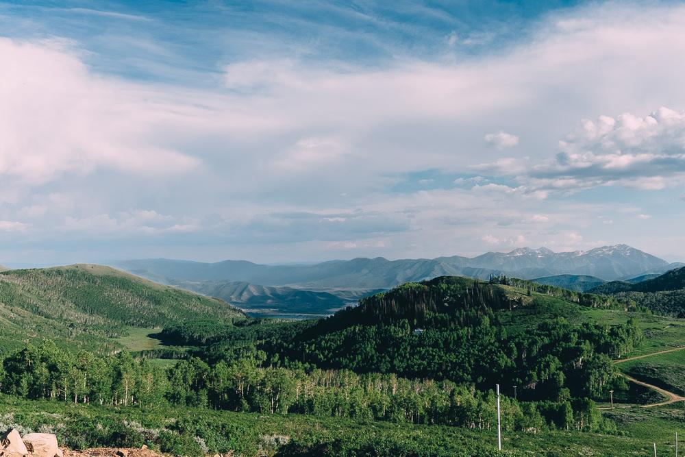 Park City Silver Lake Mountains