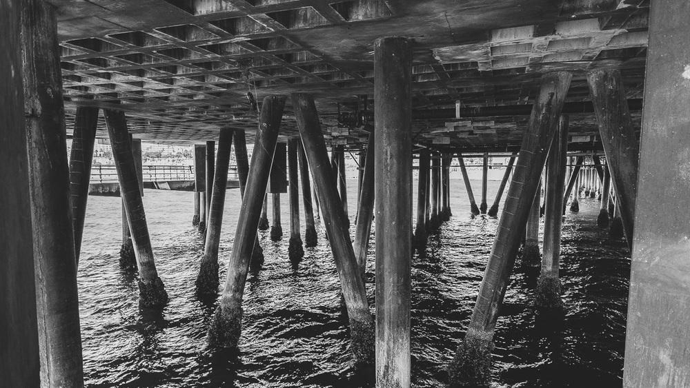 Santa Monica Under Pier