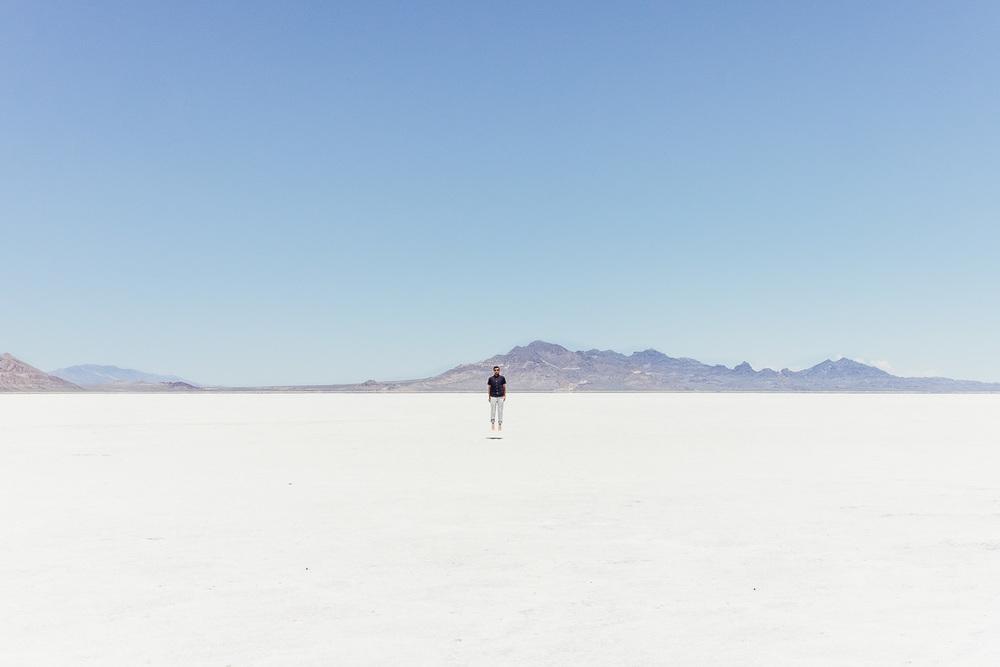 Copy of Jonathan Grado at Bonneville Salt Flats